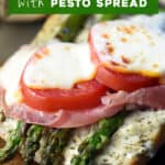 pin for Asparagus Muenster Melt