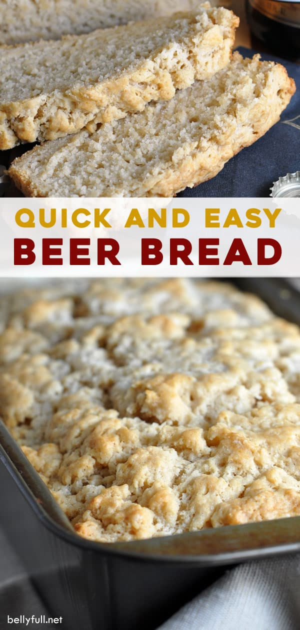 long pin for easy beer bread