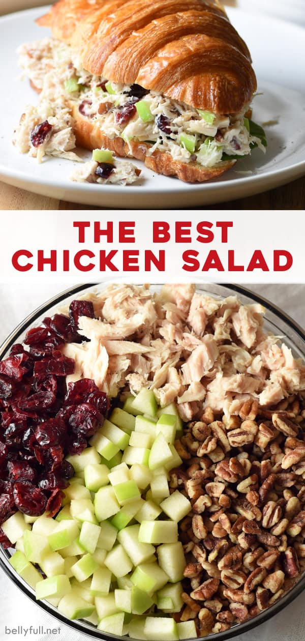 long pin for best chicken salad