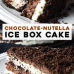long pin for Chocolate Icebox Cake