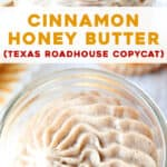 long pin for cinnamon honey butter