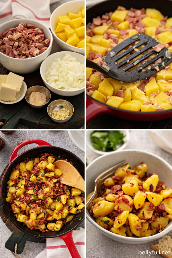 corned beef hash step by step photos