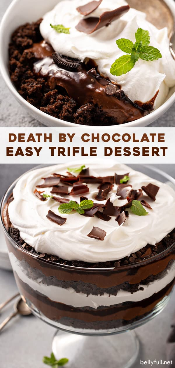 long pin for Death By Chocolate Trifle