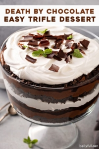pin for Death By Chocolate Trifle