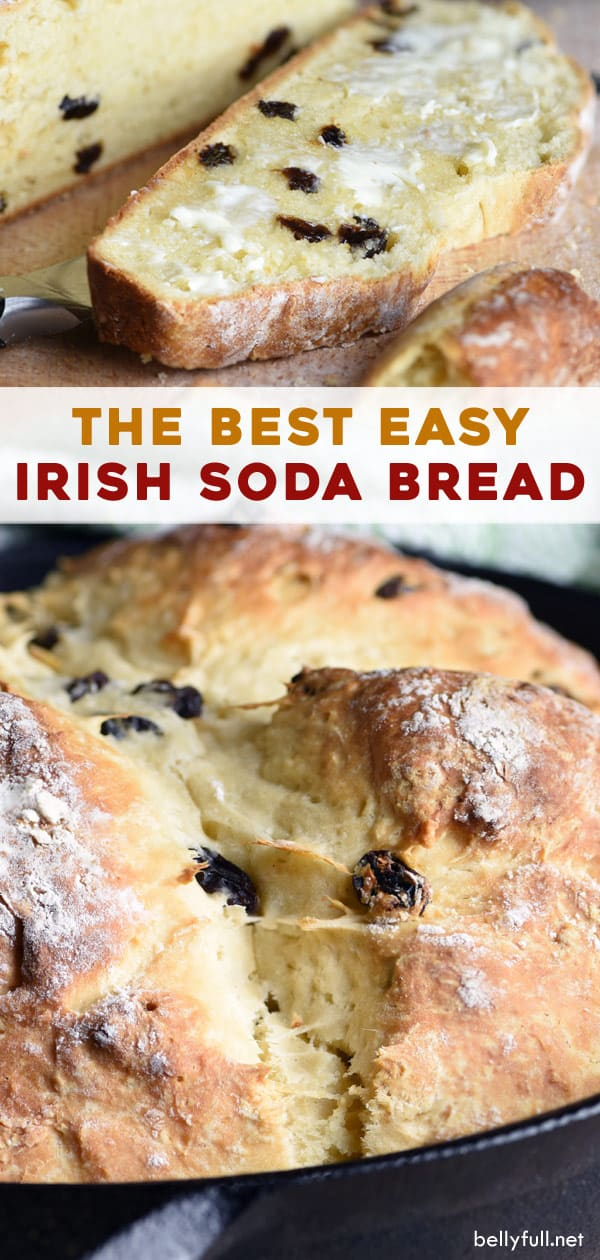 long pin for Irish Soda Bread