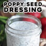 long pin for poppy seed dressing