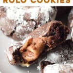 pin for Rolo Cookies