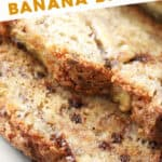 pin for the best homemade banana bread recipe