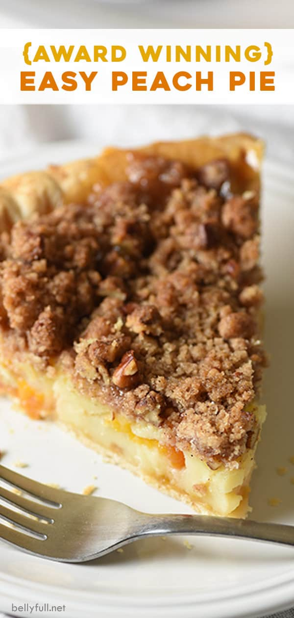 long pin for peach pie recipe