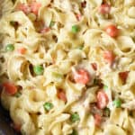 long single pin for chicken pot pie noodles skillet