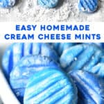2 picture pin for cream cheese mints