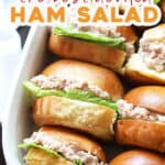 pin for the best deviled ham salad