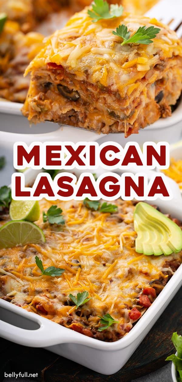 long pin for Mexican Lasagna