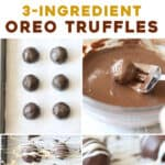 long pin for Oreo Truffles with step by step pictures
