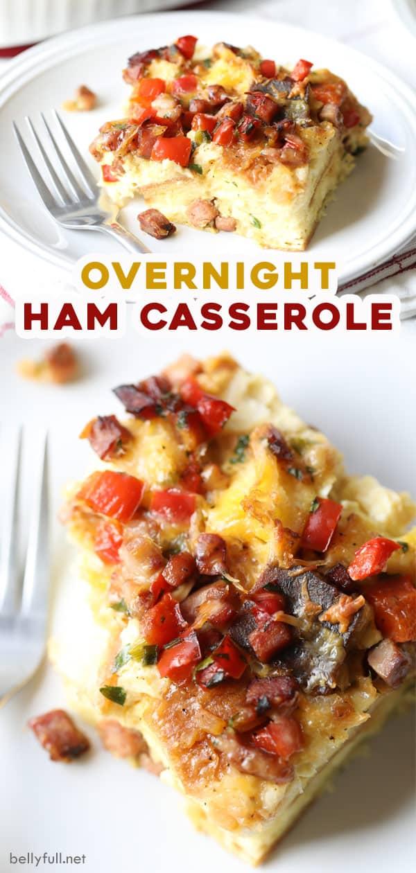 long pin for overnight breakfast casserole
