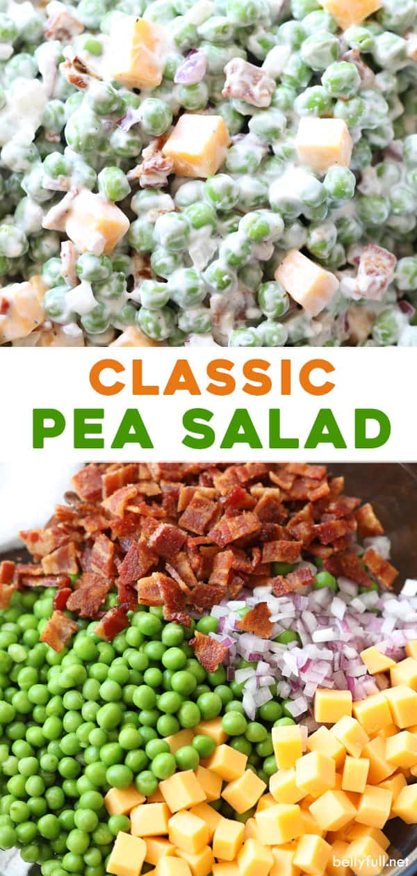 2 picture pin for classic pea salad