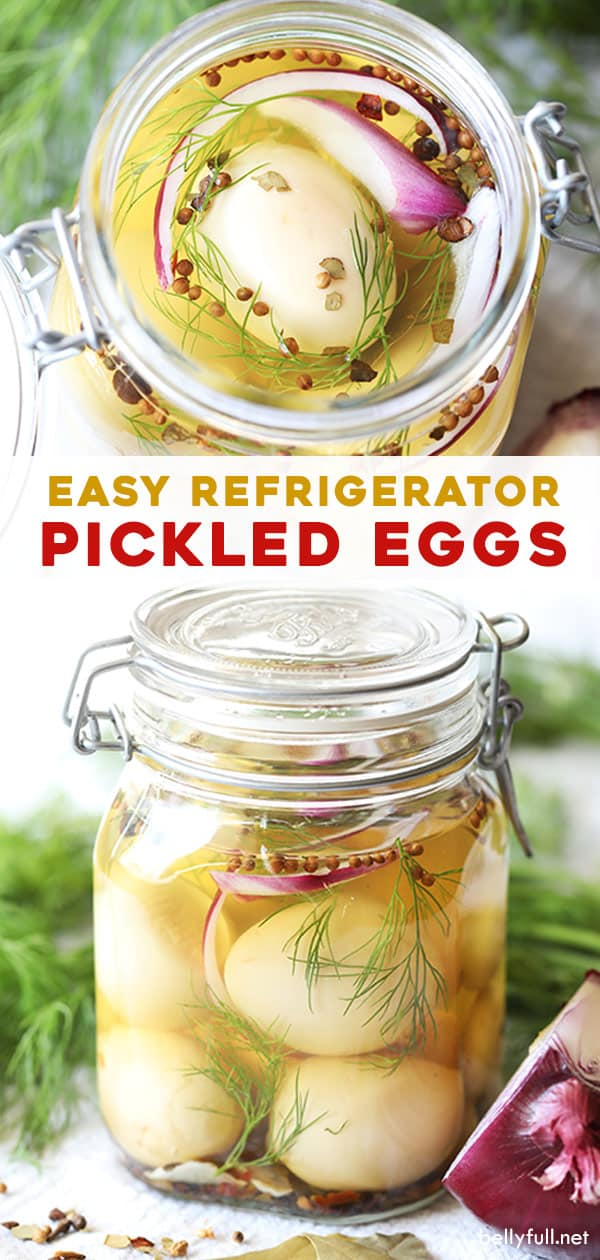 long pin for refrigerator pickled eggs