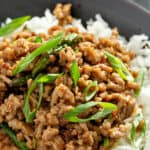 long pin for ground Pork Stir Fry with Asparagus