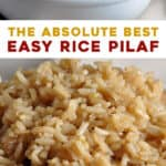 2 photo long pin for rice pilaf