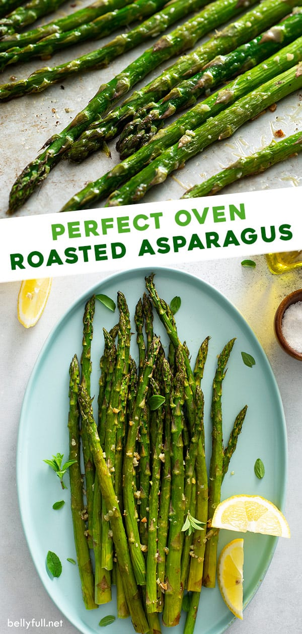 2 picture long pin for oven roasted asparagus