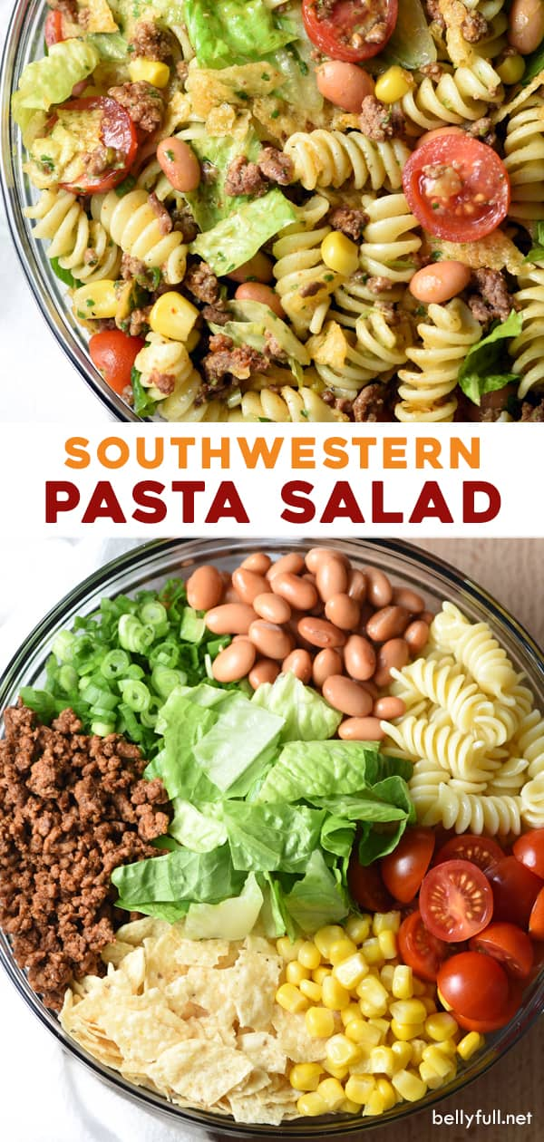 long pin for southwestern pasta salad