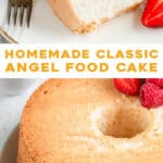2 picture pin for homemade angel food cake
