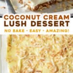 2 picture pin for coconut cream lush dessert