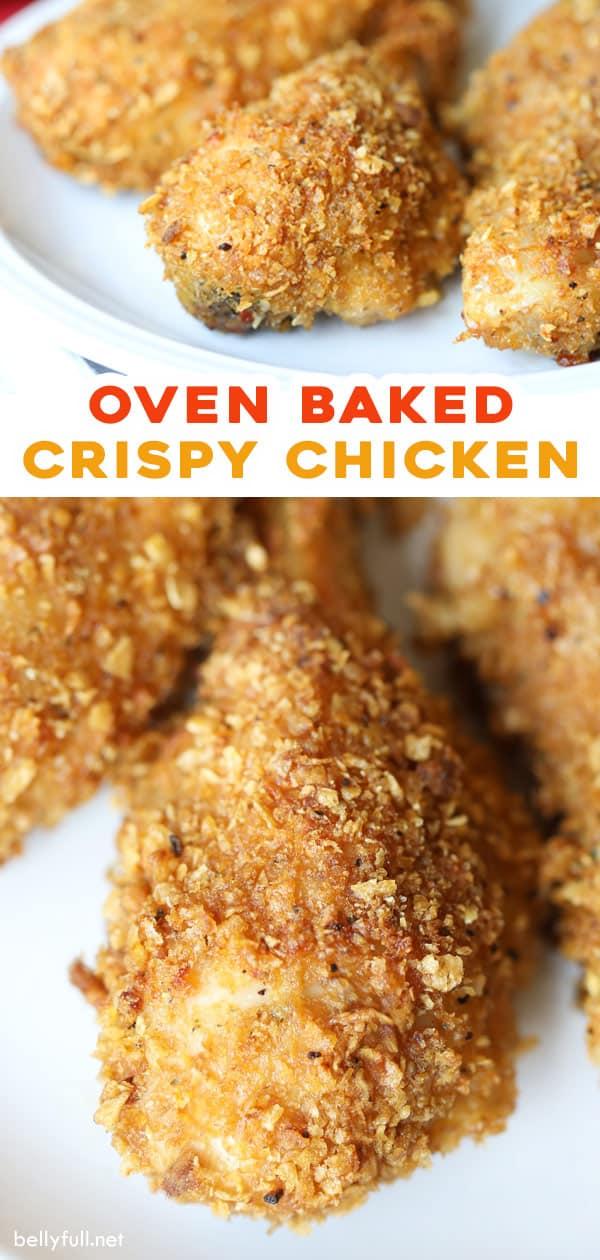 long pin for crispy oven baked chicken drumsticks