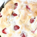 pin for homemade strawberry cake