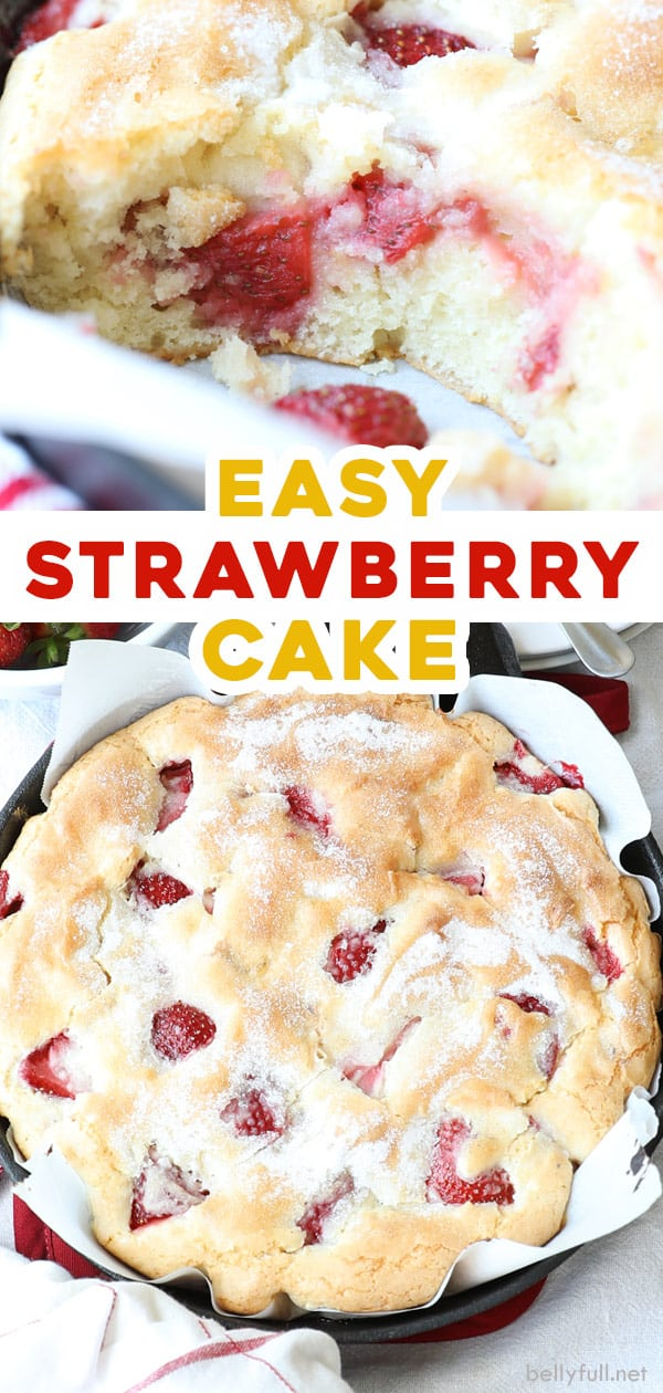 2 picture pin for homemade strawberry cake