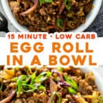 2 picture long pin for egg roll in a bowl