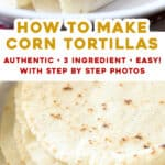 2 picture long pin for homemade corn tortillas