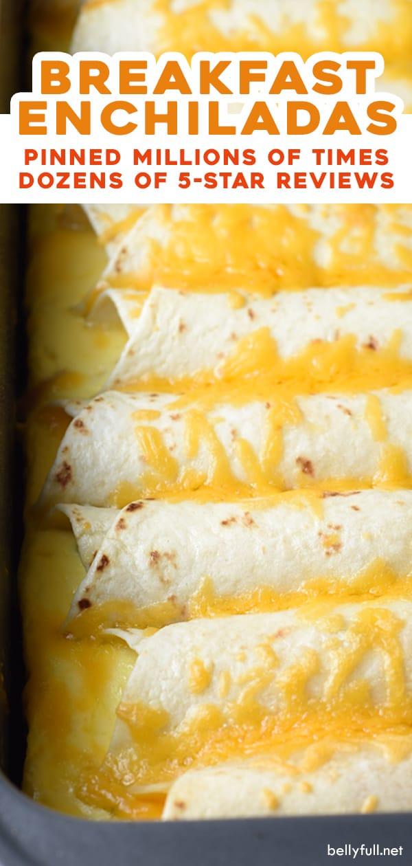 long pin for breakfast enchiladas recipe