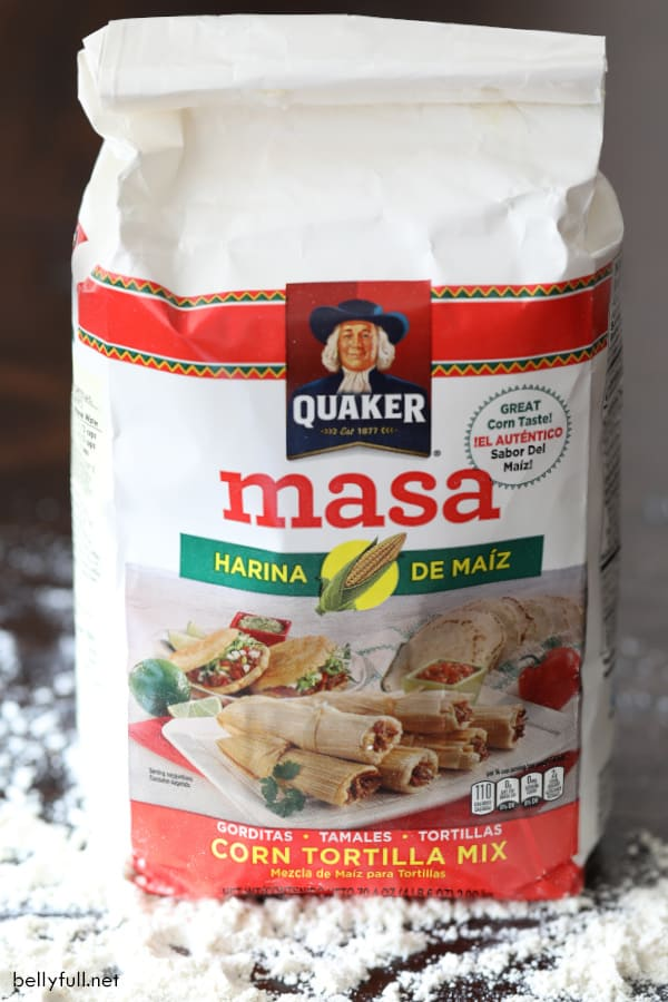 bag of Masa harina