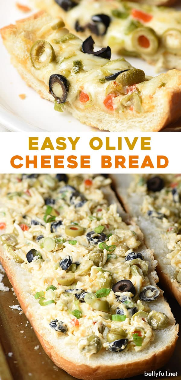 2 picture pin for olive cheese bread