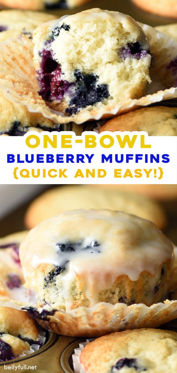 pin for blueberry muffins