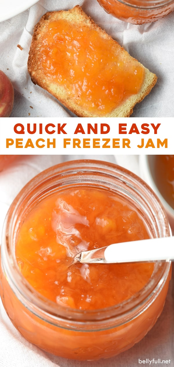 2 picture pin for peach freezer jam