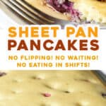 2 picture pin for sheet pan pancakes