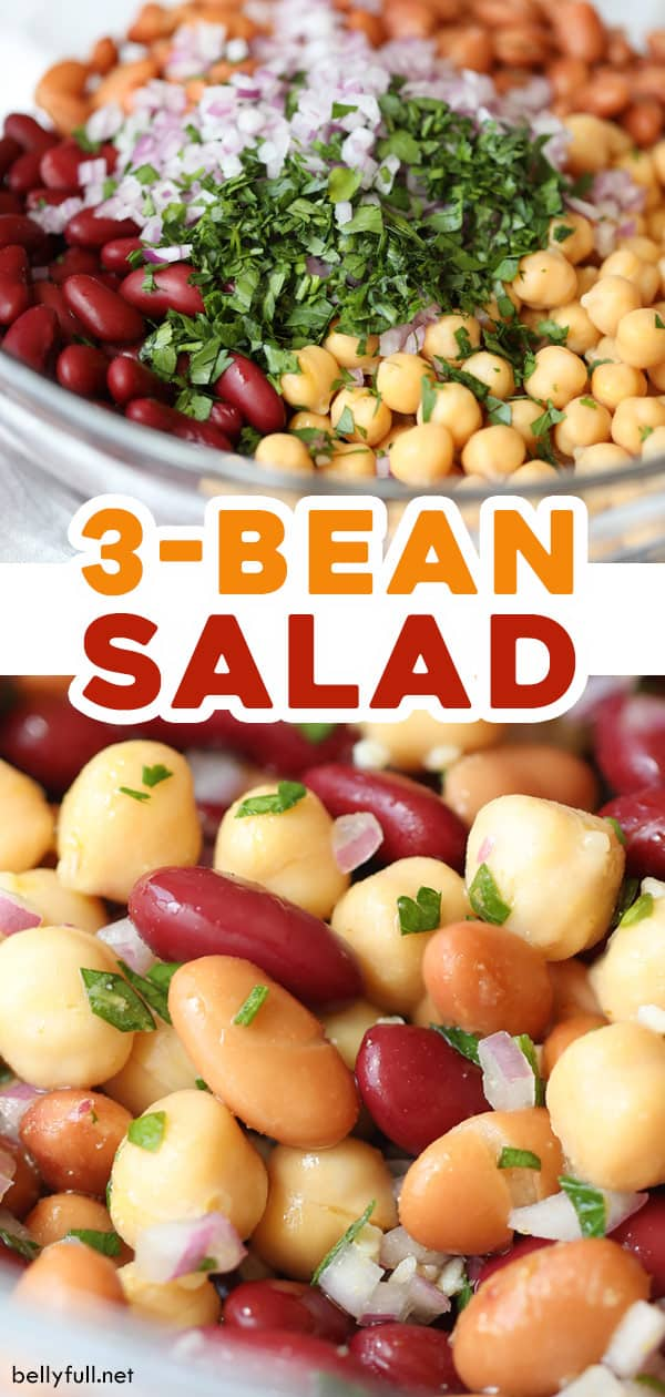 2 picture pin for three bean salad