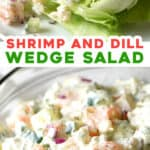 2 picture pin for shrimp wedge salad