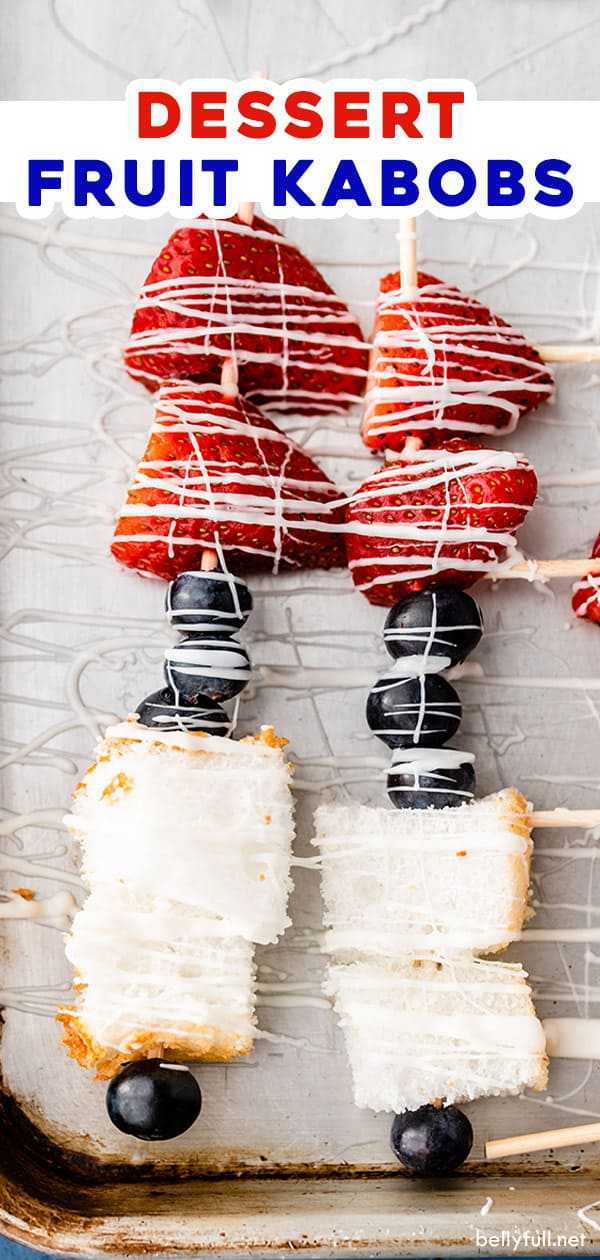 pin for red white blue dessert fruit kabobs
