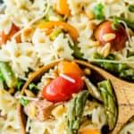 long pin for Simple Italian Pasta Salad