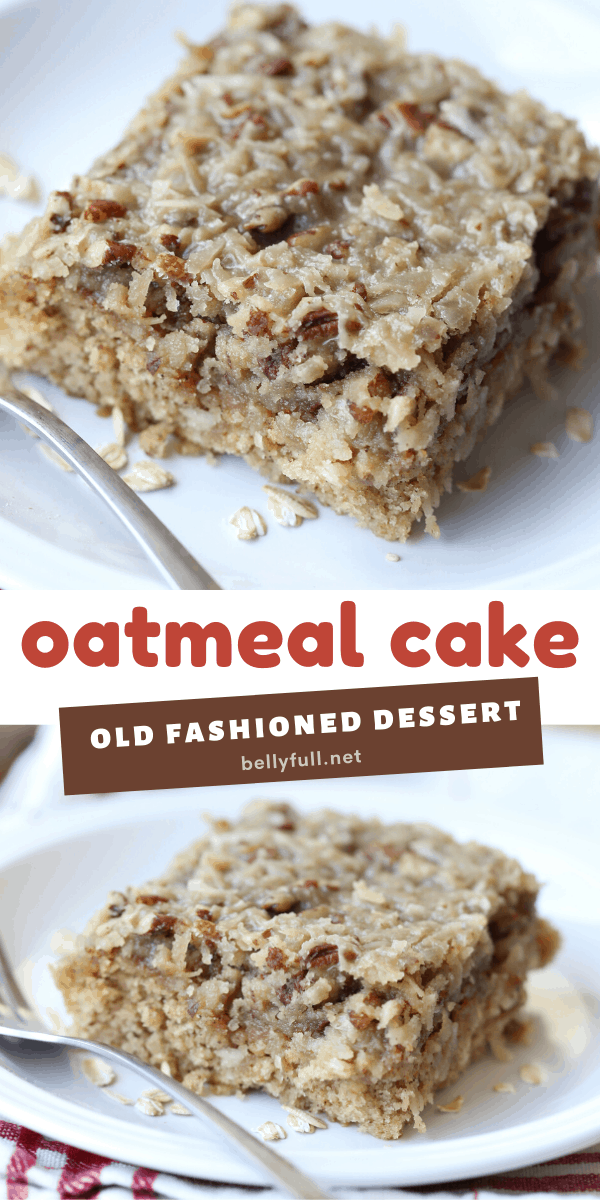 2 picture pin for oatmeal cake recipe