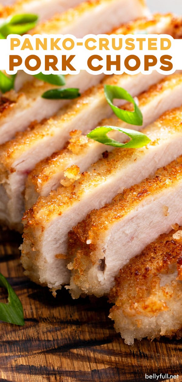 pin for panko breaded pork chops