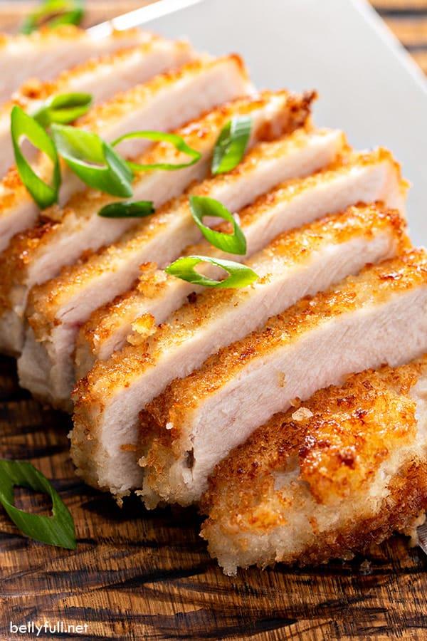 pork loin chops recipes panko Panko-Crusted Pan Fried Pork Chops