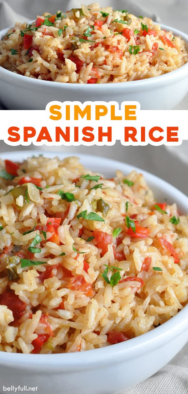 2 picture pin for simple spanish rice