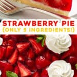 2 picture pin for homemade strawberry pie