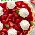 pin for strawberry jello pie