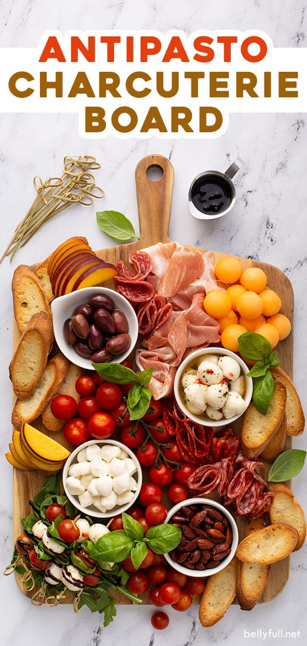pin for antipasto charcuterie board