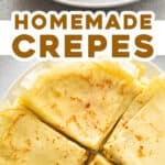 2 picture pin for homemade crepes